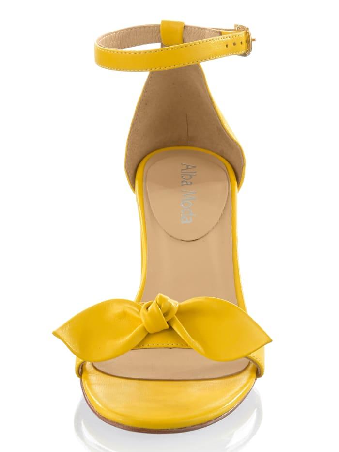Sandalette aus Ziegennappa