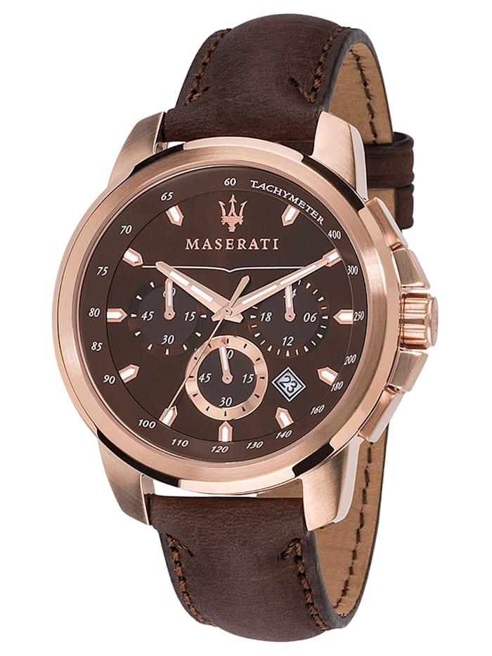 Maserati Successo Herren-Chronograph, Braun