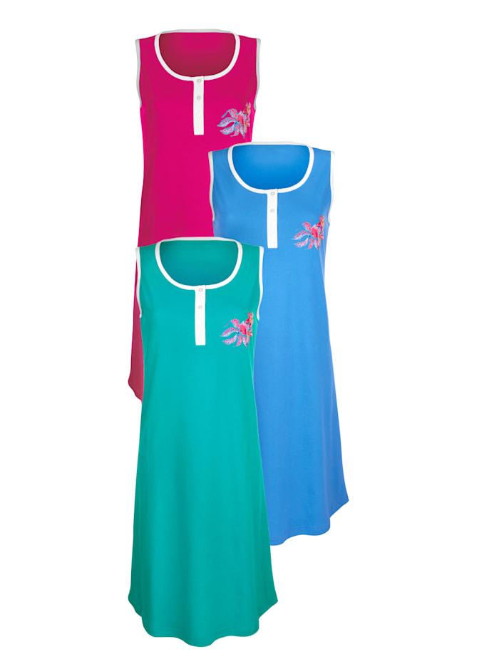 Strandkleid in Organic Cotton 3er Pack