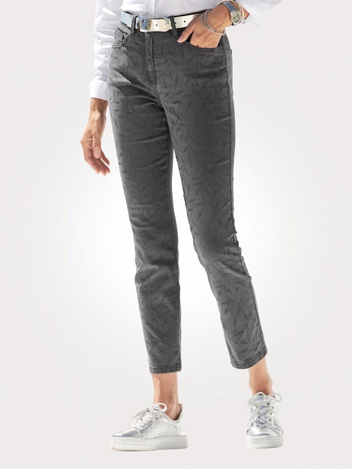 Jeans mit Strassperlen