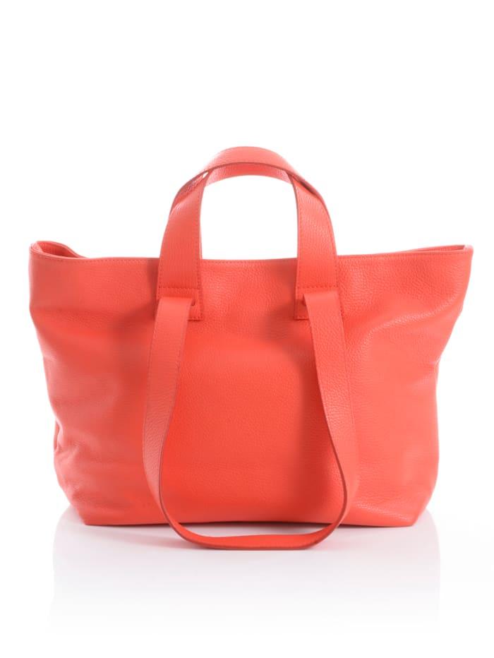 Collezione Alessandro Tasche in knalliger Farbe, Koralle