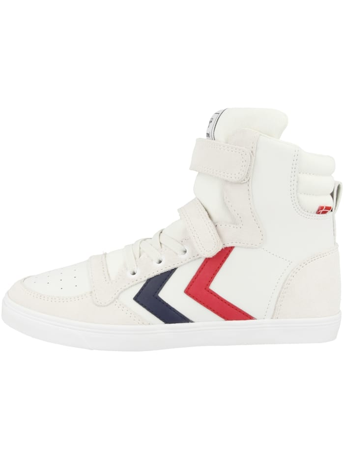 Hummel Sneaker high Slimmer Stadil Leather High JR, weiss