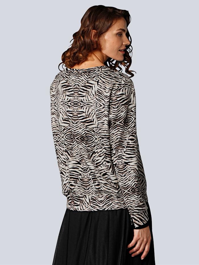 Sweatshirt im modischen Print