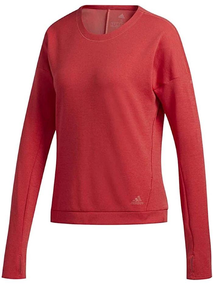adidas adidas Sweatshirt Supernova Run Cru, Rot