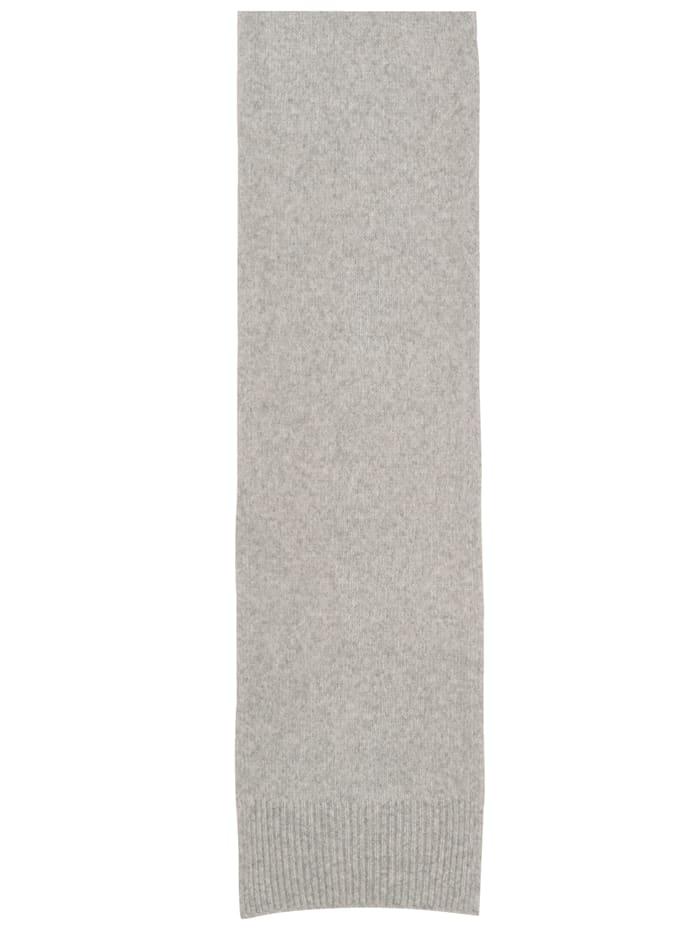 Strickschal in Melangeoptik