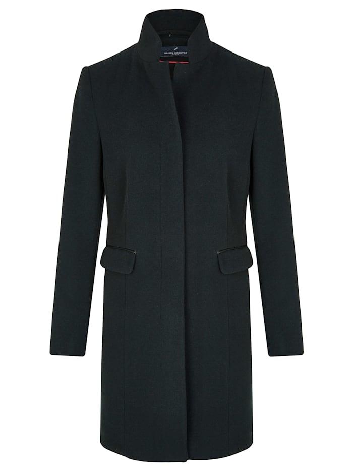 Modischer Mantel mit Stehkragen