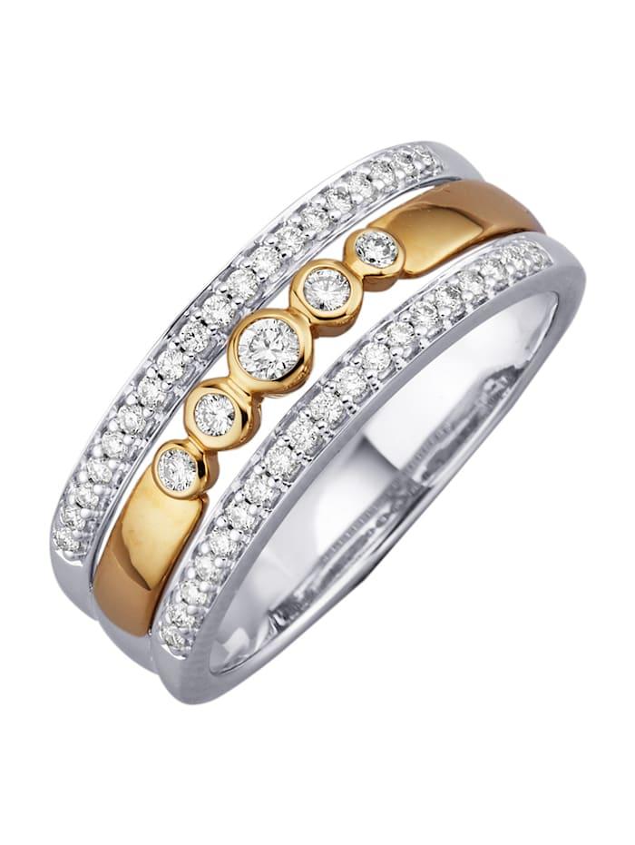 Diemer Diamant Damesring, Wit