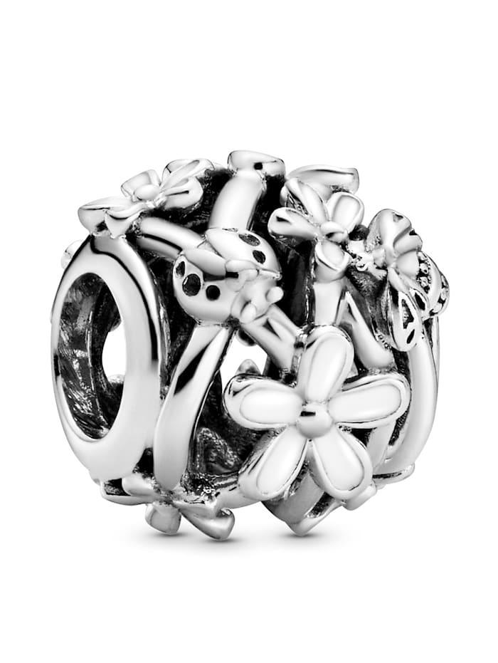 Pandora Charm-Durchbrochene Gänseblümchen- 798772C01, Silberfarben