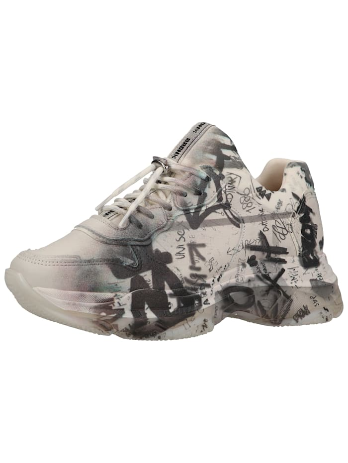 Bronx Bronx Sneaker, Weiß/Grau