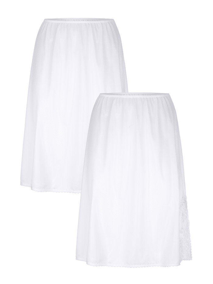 Südtrikot Unterröcke mit antistatischer Ausrüstung, Weiß