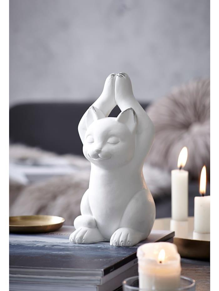 Deko-Objekt, Yoga-Katze