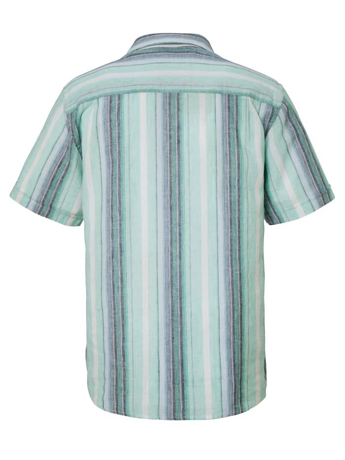 Ľanová košeľa vo vzdušnej letnej kvalite
