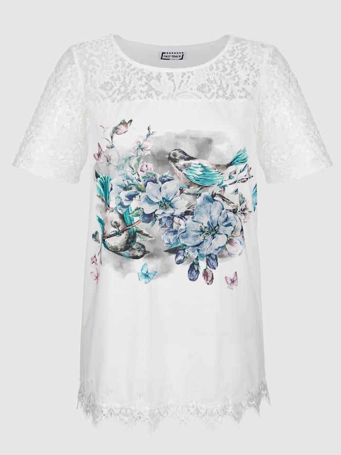 Shirt met zacht kant