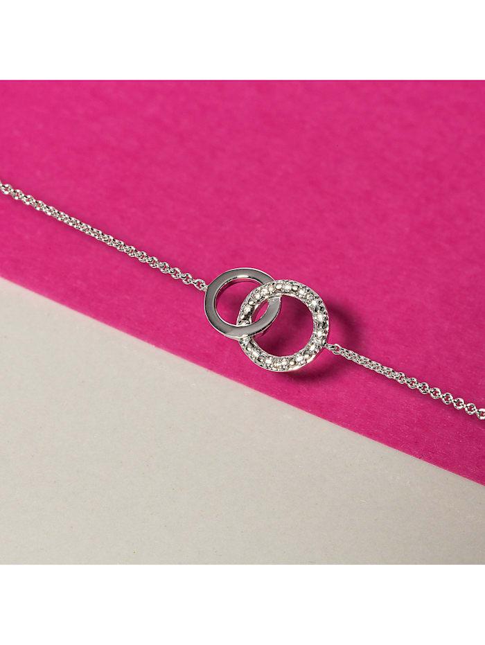 CHRIST Diamonds Damen-Armband 375er Weißgold 4 Diamant