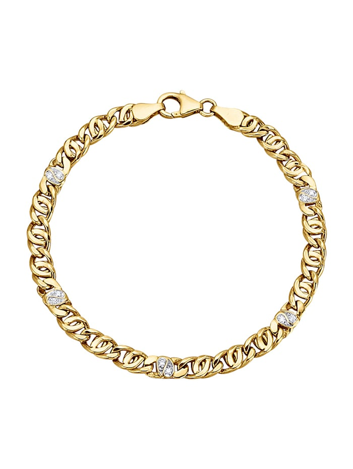 Diemer Diamant Armband, Geelgoudkleur