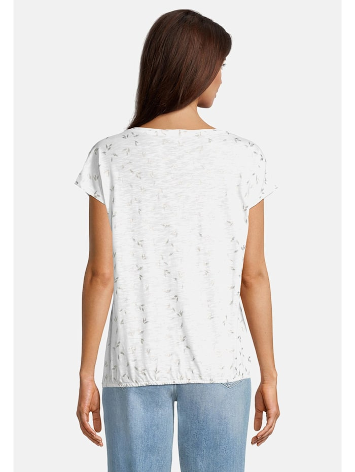 Casual-Shirt mit Rundhalsausschnitt