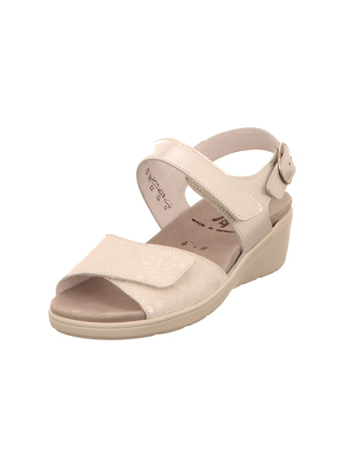 Semler Damen Sandale in weiß, weiß
