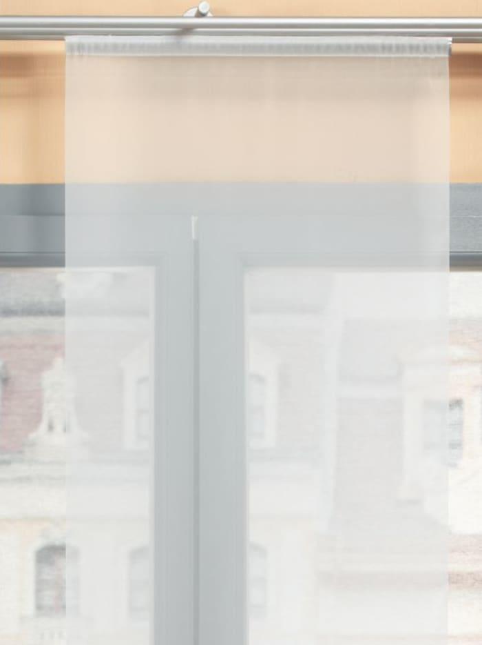 Home Wohnideen Panneau japonais en voile, Inga, Blanc cassé