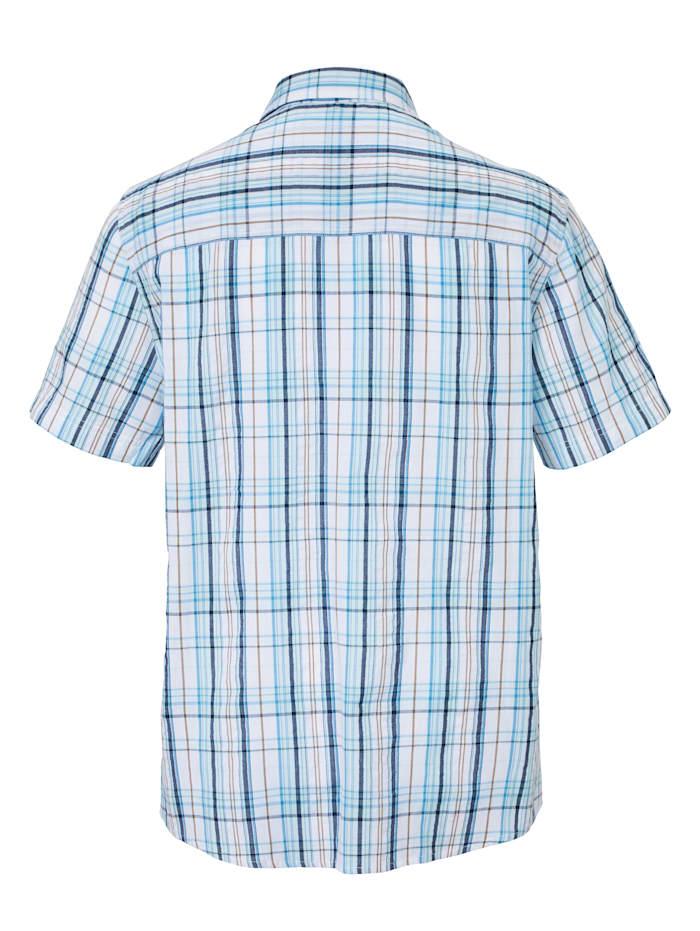 Seersuckerhemd in sommerlich leichter Qualität