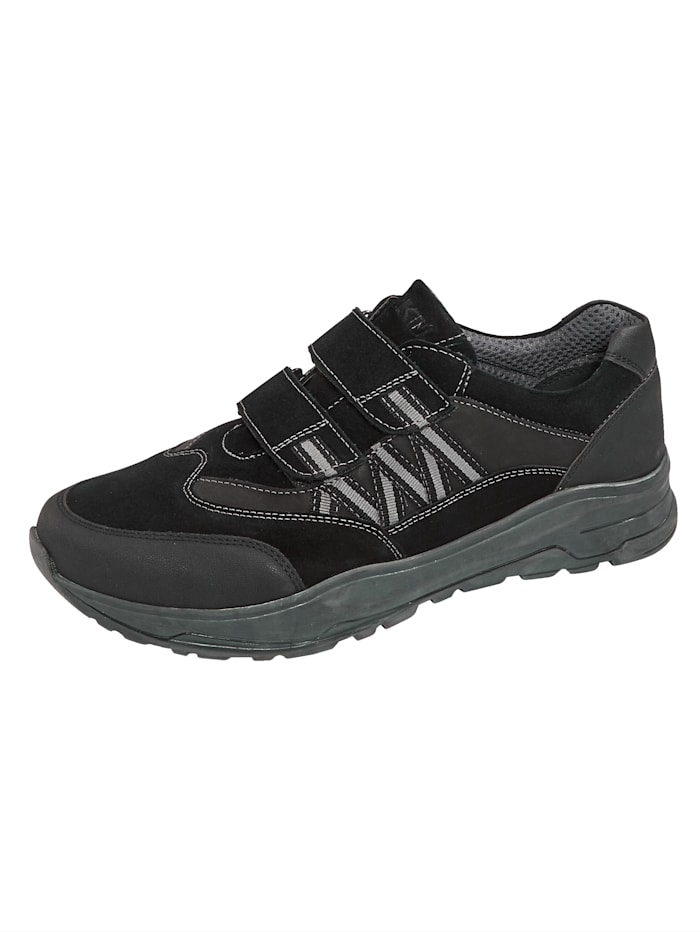 Roger Kent Slipper obuv s moderným dizajnom, Čierna
