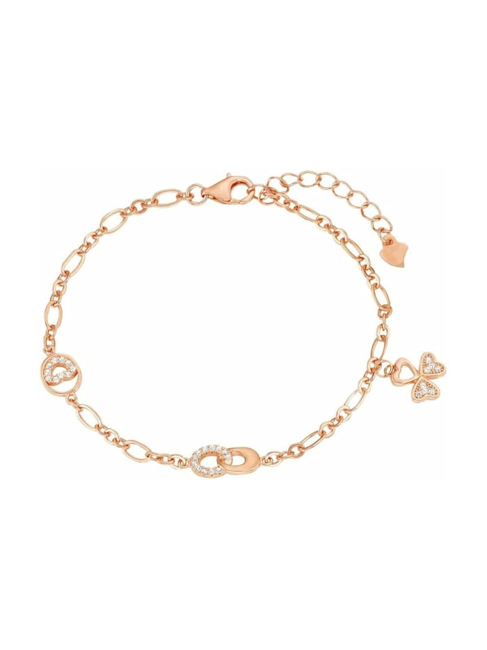 amor Armband für Damen, Sterling Silber 925, Zirkonia, Roségold