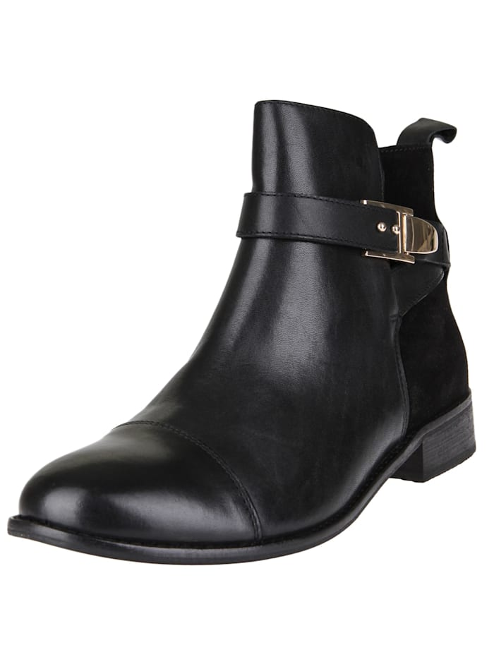 COX Stiefelette Trend-Bootie, schwarz