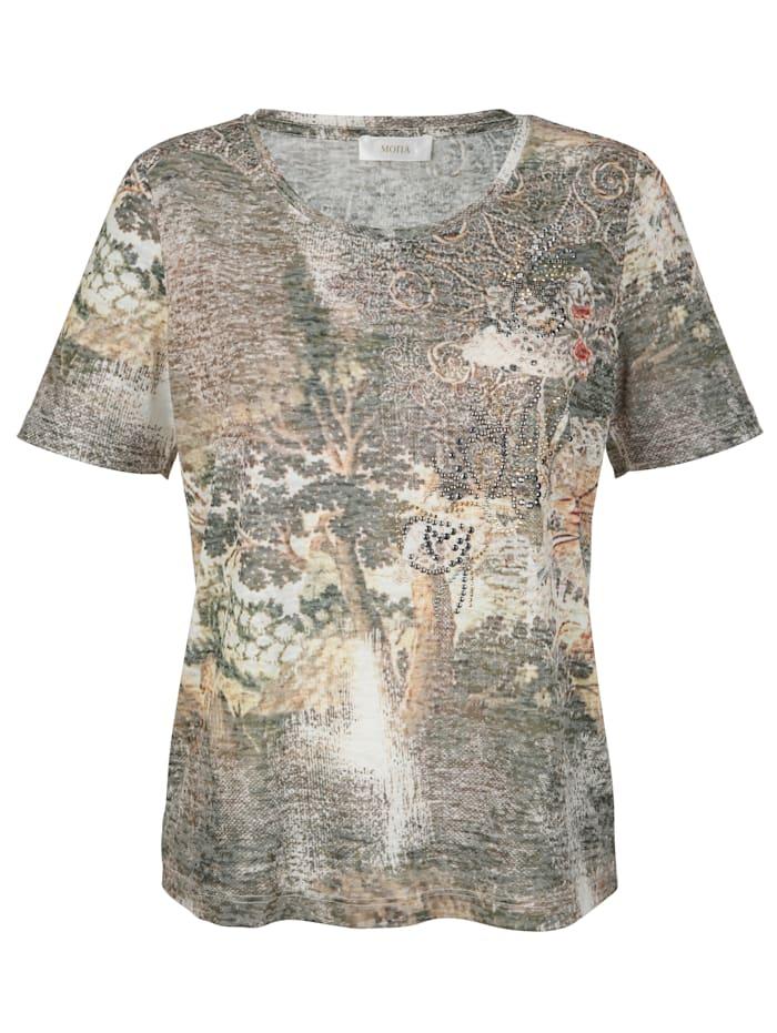 Shirt mit dekorativem Druck