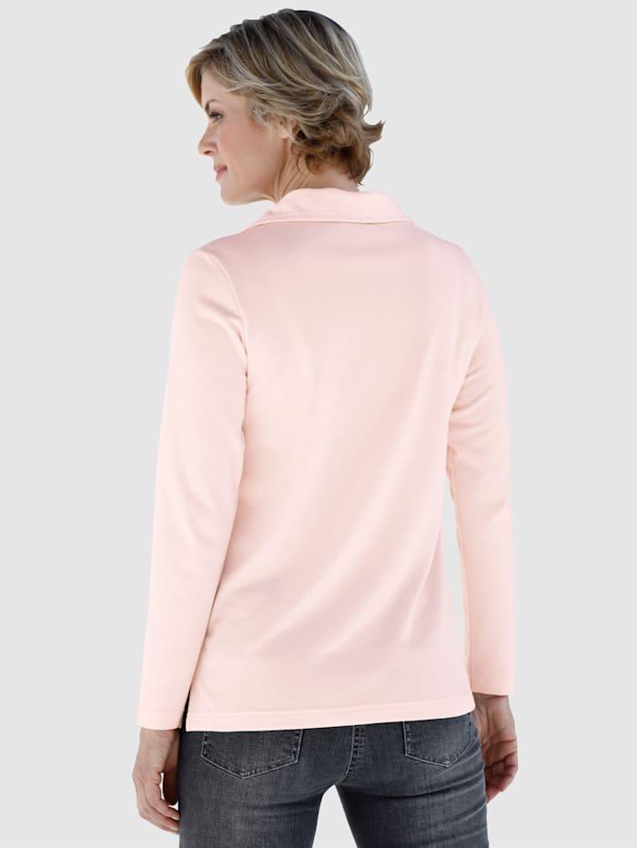 Sweatshirt met strassteentjes