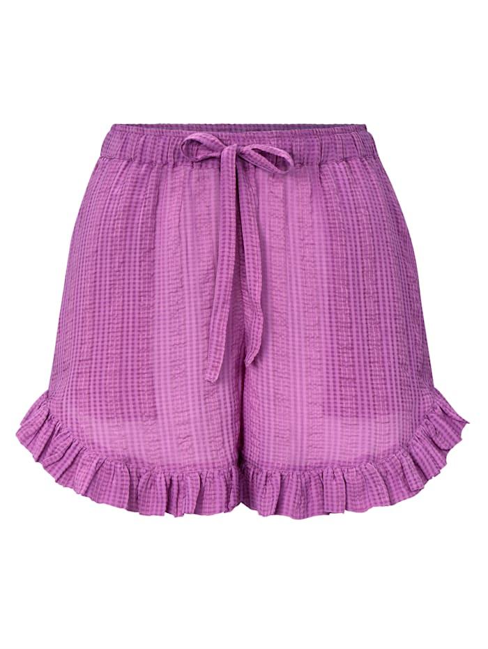Underprotection Pyjamashorts, Flieder