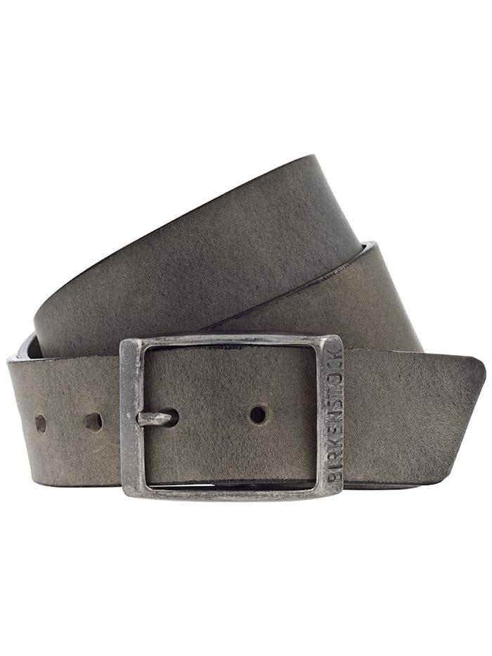 Birkenstock Gürtel Kansas 35mm U, grau