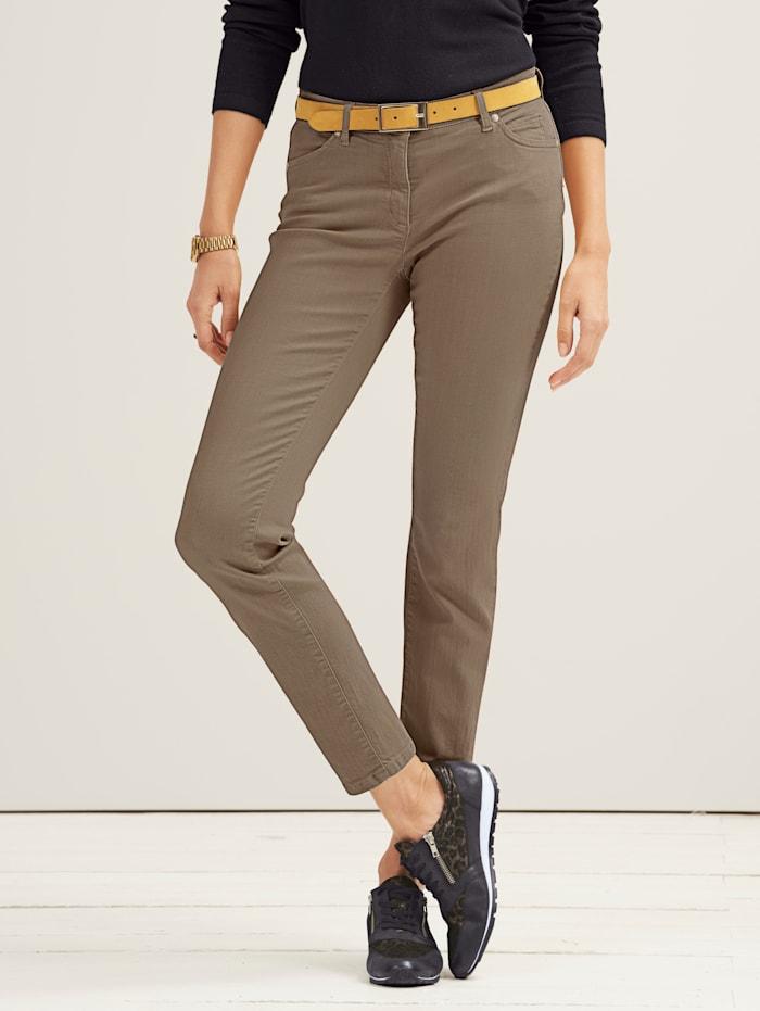 Toni Jeans van coloured denim, Beige