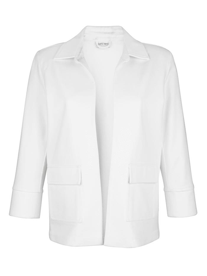 Žerzej sako v módním kratším střihu