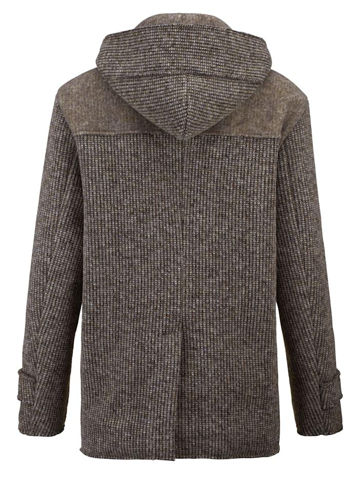 Veste en laine à jolie structure