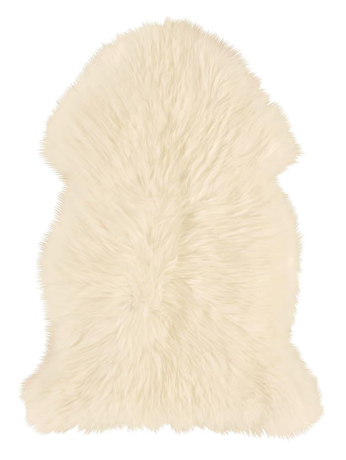 Heitmann Felle Vlnená jahňacia kožušina, Prírodná biela