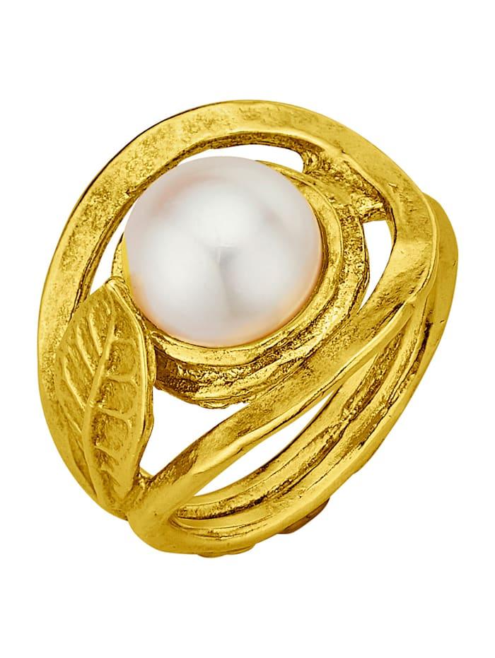 Amara Perle Damenring, Weiß
