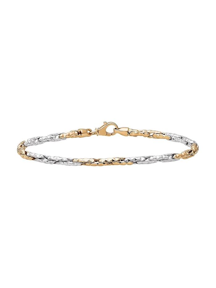CHRIST GOLD CHRIST Gold Damen-Armband 585er Gelbgold, 585er Weißgold, gold/weißgold