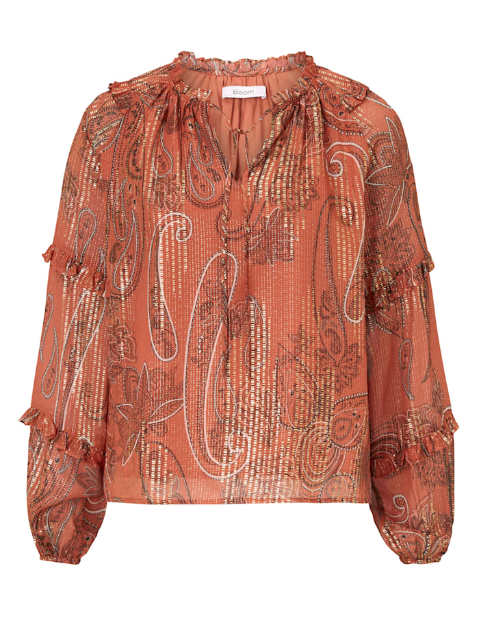 Bloom Bluse, Terracotta