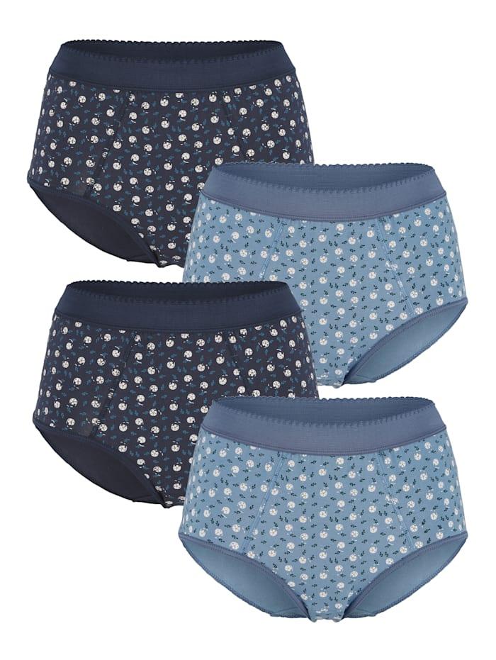 Taillenslips mit Bauchweg- Funktion 4er Pack