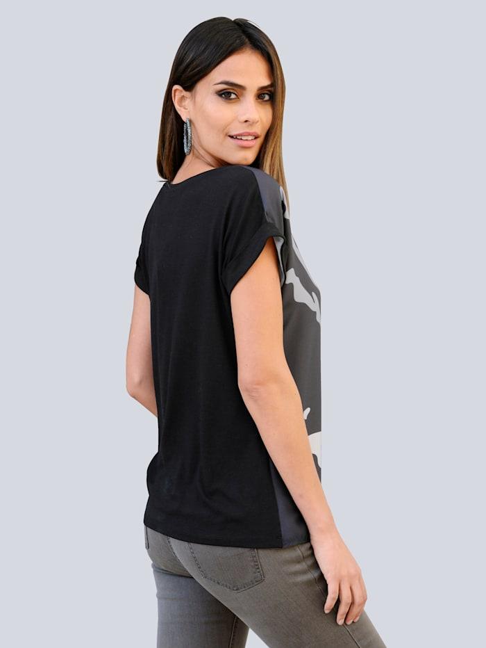Shirt im exclusiven Dessin nur bei Alba Moda