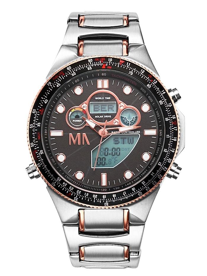 Worldtimer-Funk-Solar-Uhr Chronograph