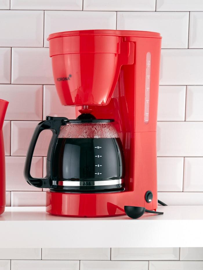 Machine à café 10118, pour 12 tasses, rouge