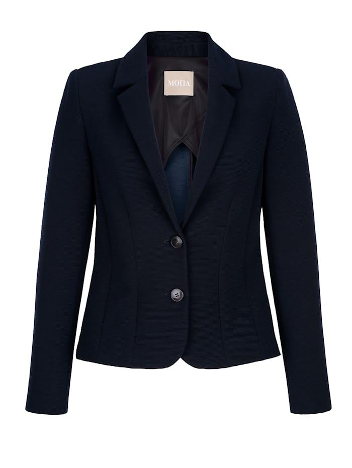 Blazer aus elastischer Jerseyqualität