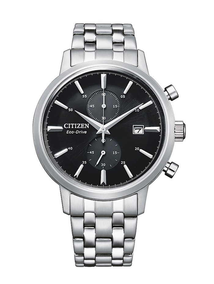 Citizen Herrenuhr ECO-Drive, CA7060-88E, Silberfarben