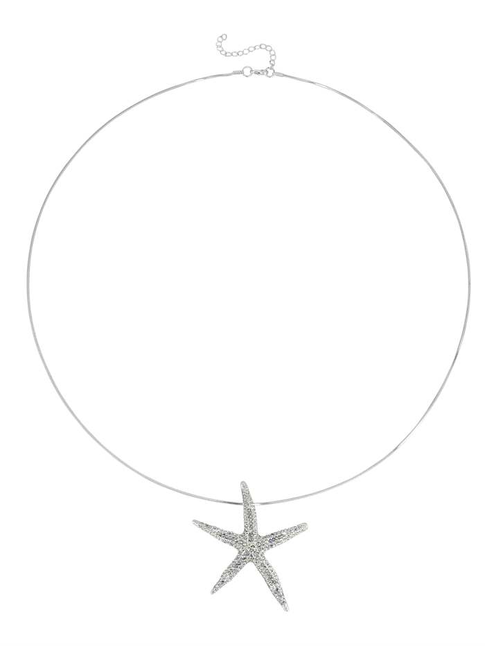 Necklace withstarfish pendant