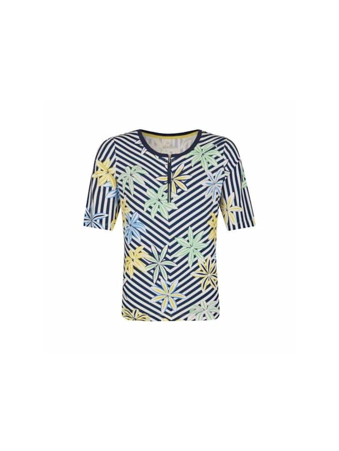 Rabe Fullprint Shirt, marineblau
