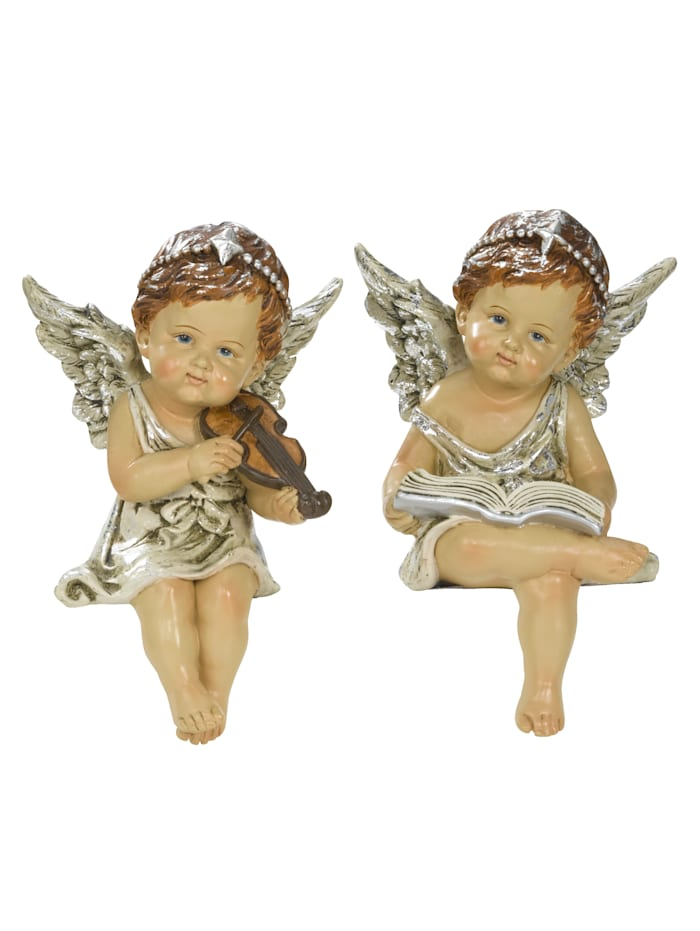 Tewa Koriste-enkeli, 2/pakkaus, Luonnonvaalea