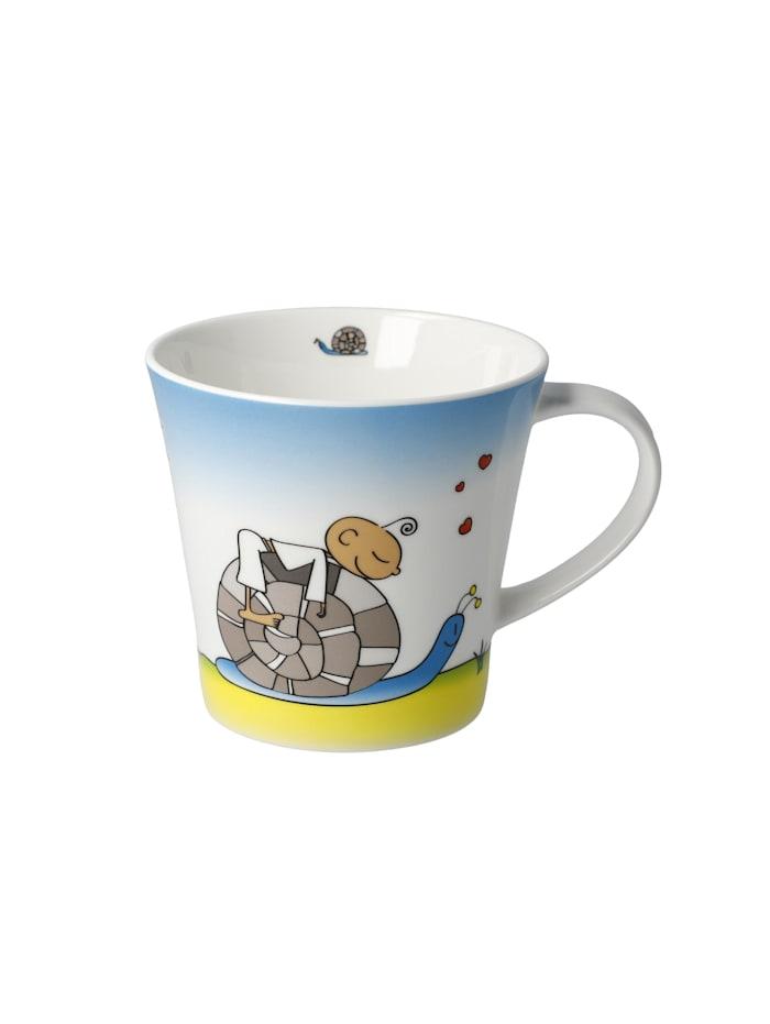 Goebel Goebel Coffee-/Tea Mug Der kleine Yogi - Ausruhplätze, Bunt