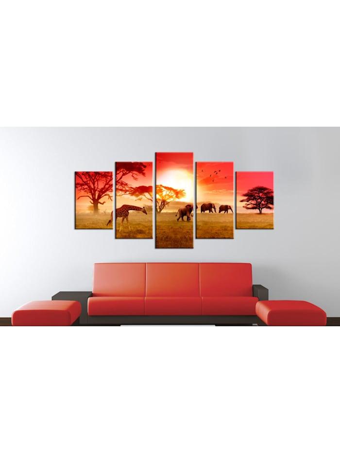Wandbild Sunny colours of Africa