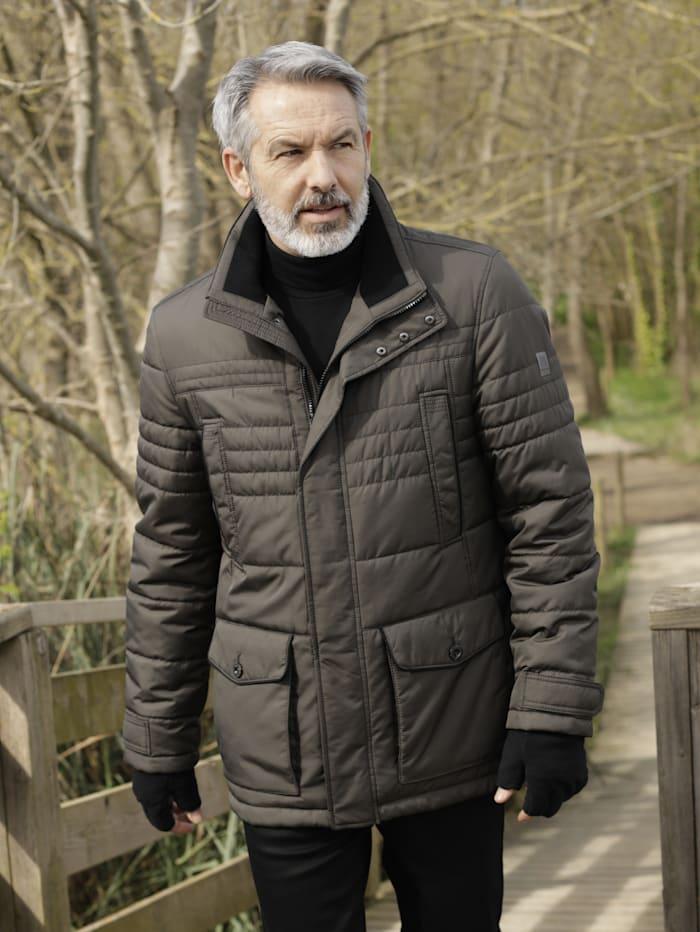 BABISTA Gewatteerde jas in comfortabel model, Riet