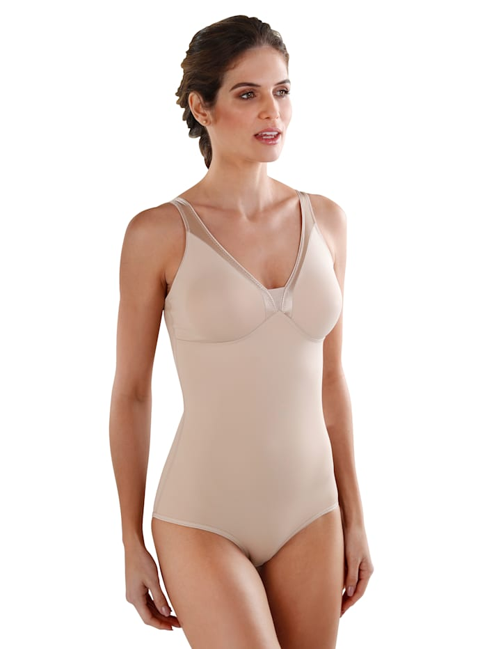 Naturana Body van comfortabel microfibre, Nude